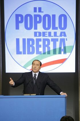 Italian former premier Silvio Berlusconi made a surprise announcement Sunday that he was forming a new party. The move was largely seen as an attempt to reassert his leadership in the conservative camp.