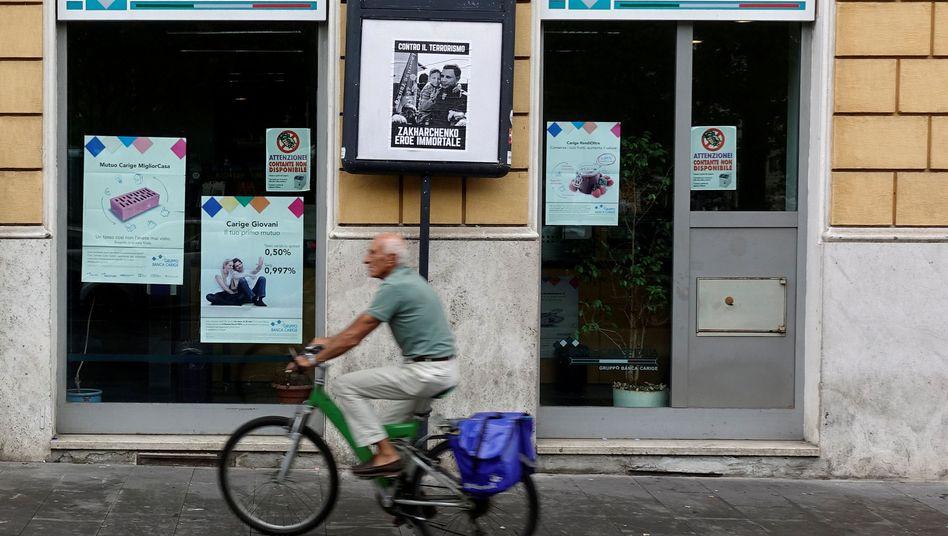 Filiale der Banca Carige in Rom