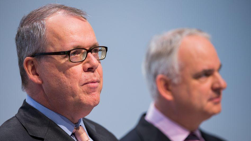 Klaus Schäfer (l.), Teyssen: Finanzvorstand wird Chef der Kraftwerkssparte