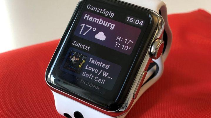 Smartwatch mit LTE: Die Apple Watch Series 3 im Test