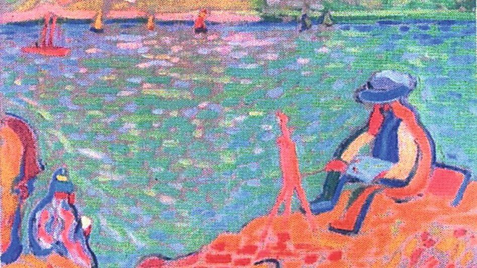 Zweifelhaftes Derain-Gemälde aus der Sammlung Jägers
