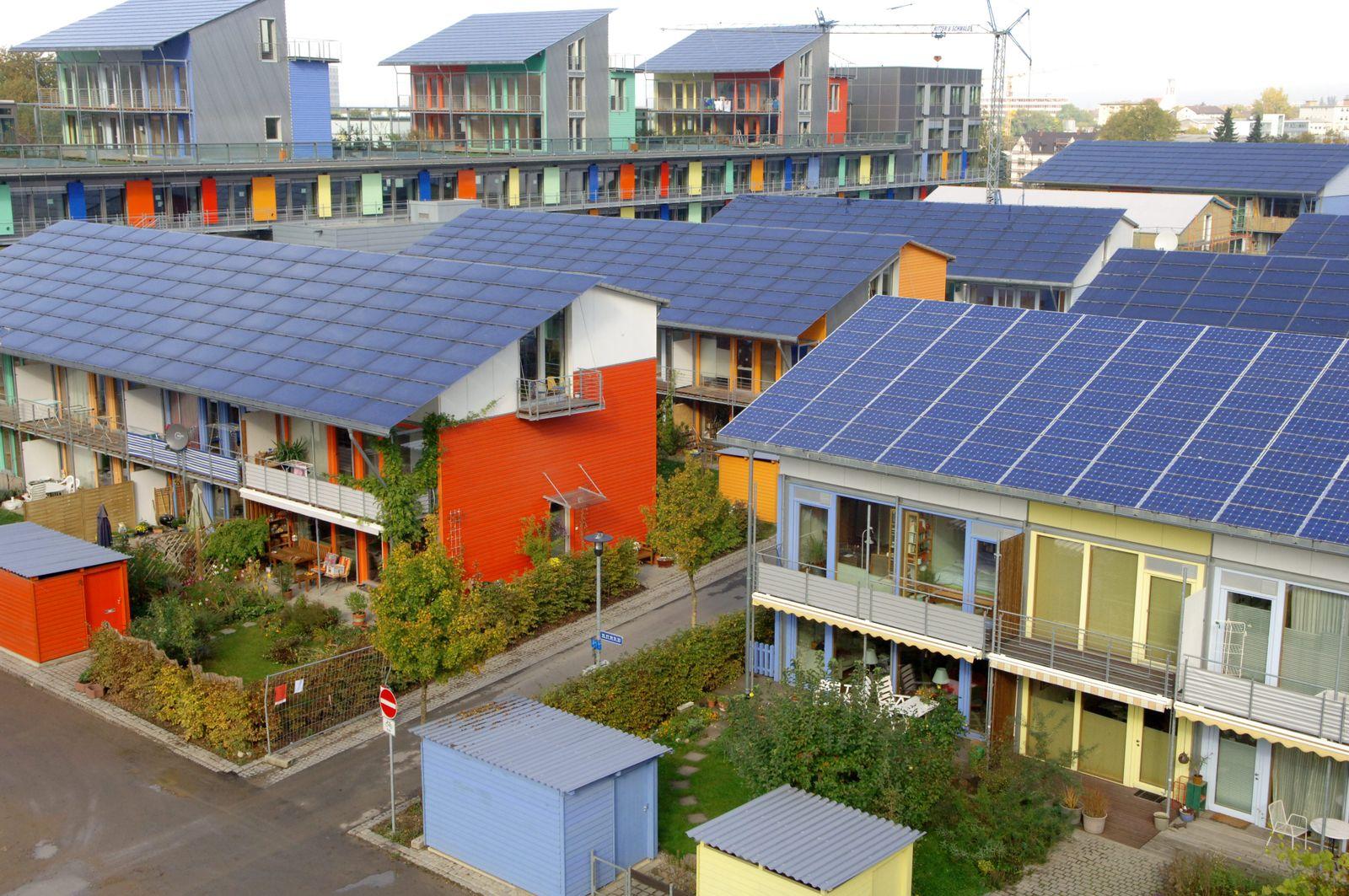 Solarsiedlung Freiburg / Plusenergiehäuser