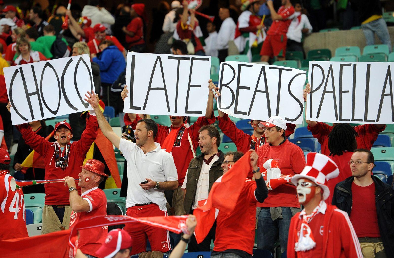WM 2010 - Spanien - Schweiz