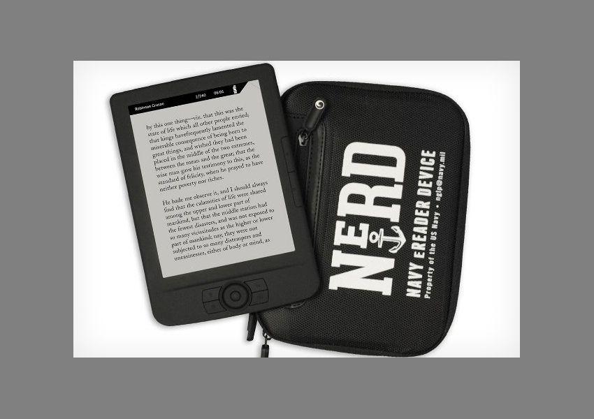 EINMALIGE VERWENDUNG E-Book-Reader NeRD