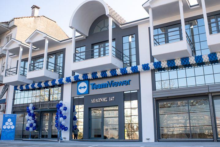 Das Teamviewer-Büro in der Dodonis-Straße: Wenn der Tech-Hub der Stadt im Jahr 2022 fertiggestellt ist, will das Unternehmen dorthin umziehen