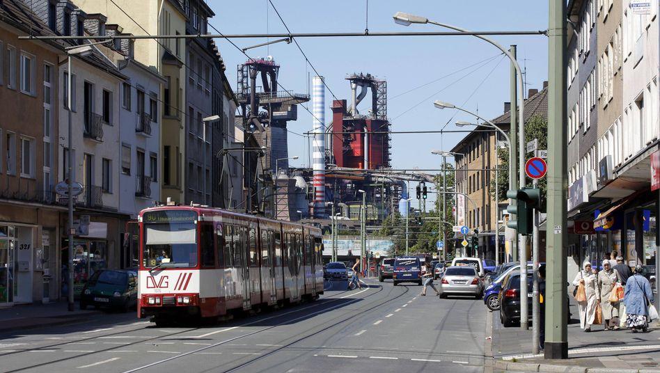 Duisburger Stadtteil Beeck: Hohe Kosten für Hartz-IV-Empfänger, deutliche niedrigeren Steuereinnahmen