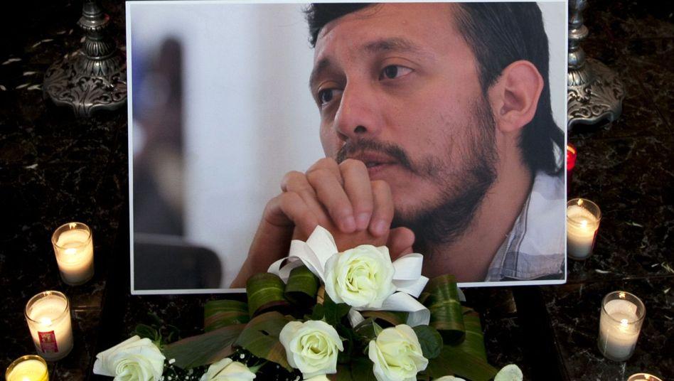 Mexikanischer Fotojournalist: Trauerfeier nach Mord an Rubén Espinosa