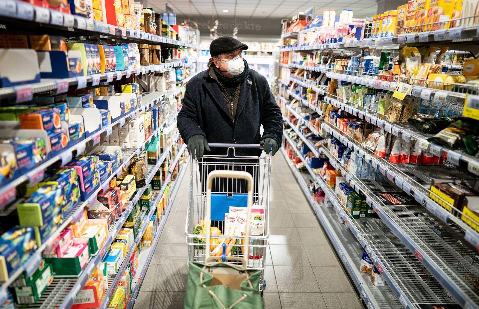 Coronavirus - Einkauf in Berlin