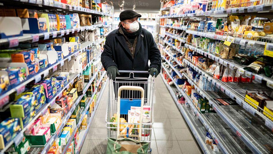 Einkaufen mit Handschuhen und Atemmaske: Kann ich mich so vor einer Corona-Infektion schützen?