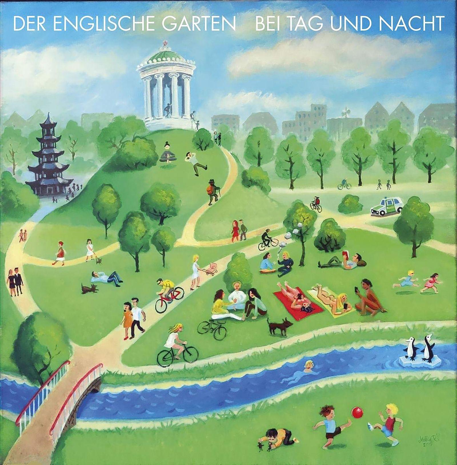 Abgehört/ Der Englische Garten: Bei Tag und Nacht COVER