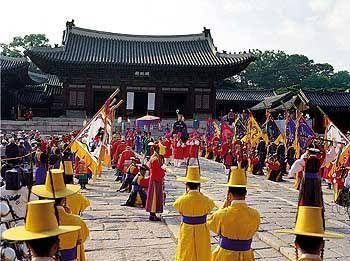 Veranstaltung im Changdeokgung-Palast in Seoul: Tradition neben westlicher Orientierung