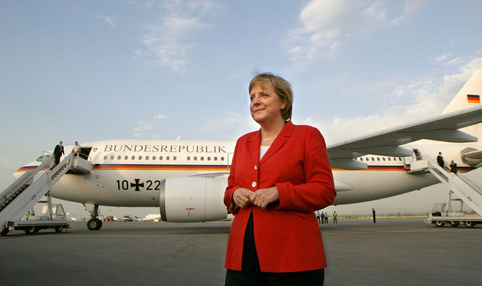Airbus A310/ Theodor Heuss / Merkel