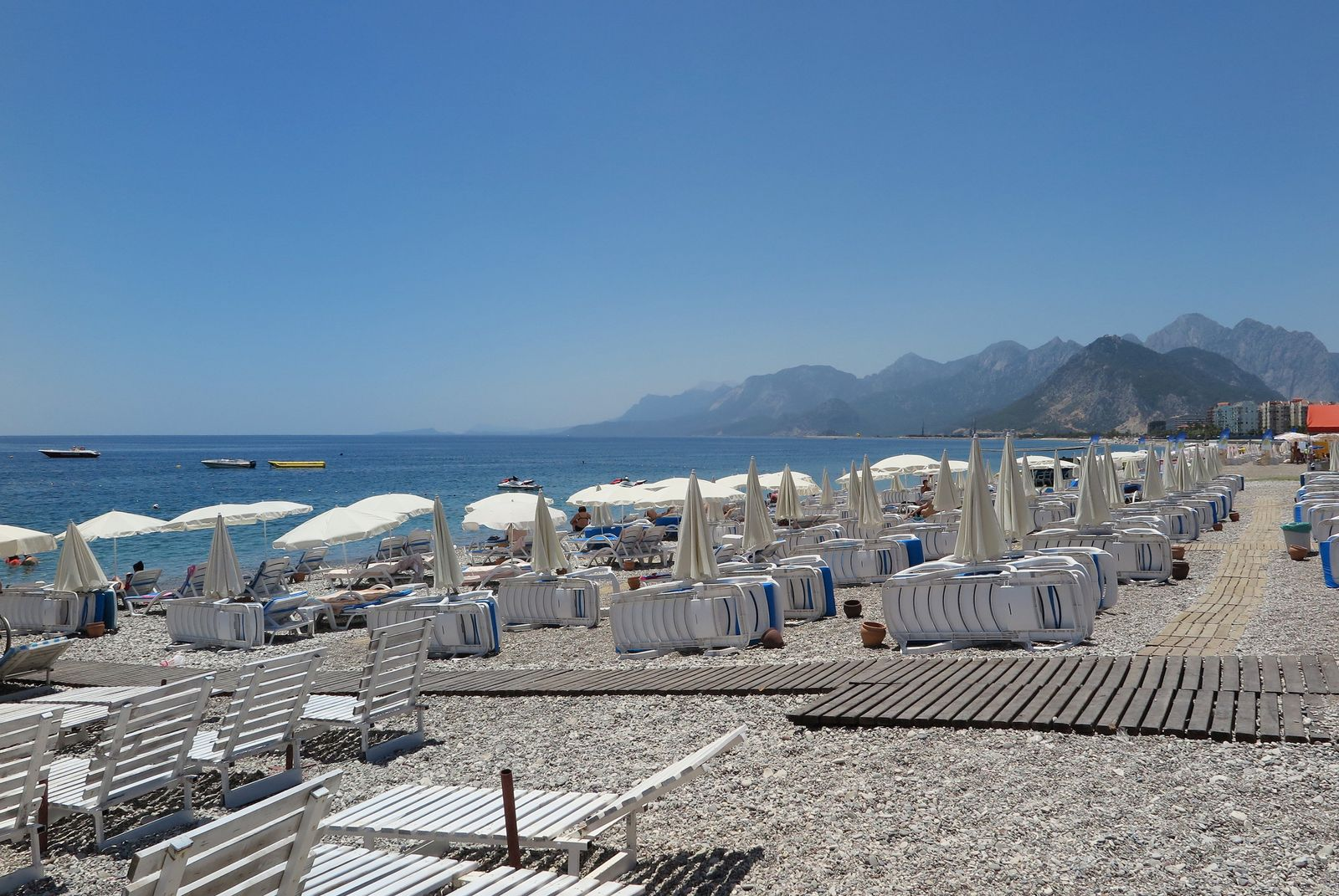 EINMALIGE VERWENDUNG Tourismus/ Türkei/ Antalya/ Strand