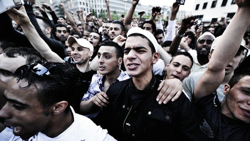 Salafisten-Kundgebung »Islam - die missverstandene Religion« in Frankfurt am Main 2011