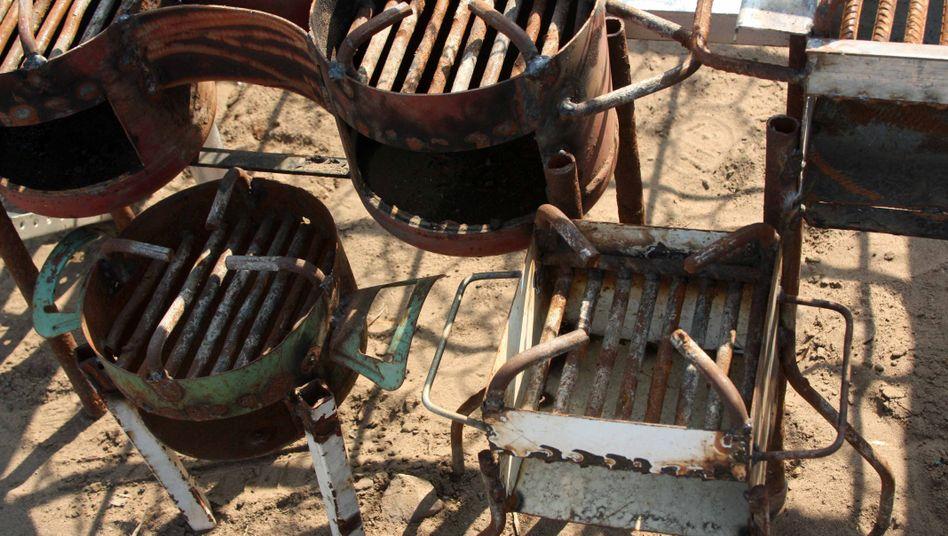 Mosambik: Diese Kohleöfen sind für den Einsatz im Haus gedacht