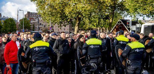 Union Berlin: 75 Festnahmen bei Gastspiel in Rotterdam