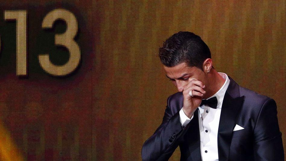 Cristiano Ronaldo: Sieger bei der Wahl zum Weltfußballer 2013
