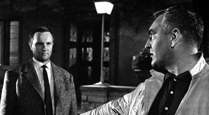 "Alfred Müller als Hansen in ""For Eyes only"""