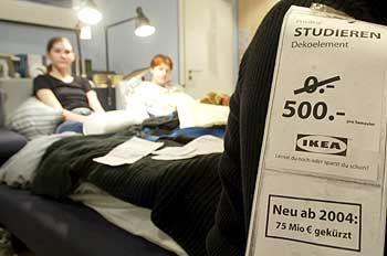 Studium in Berlin: Kein Ikea-Schnäppchen