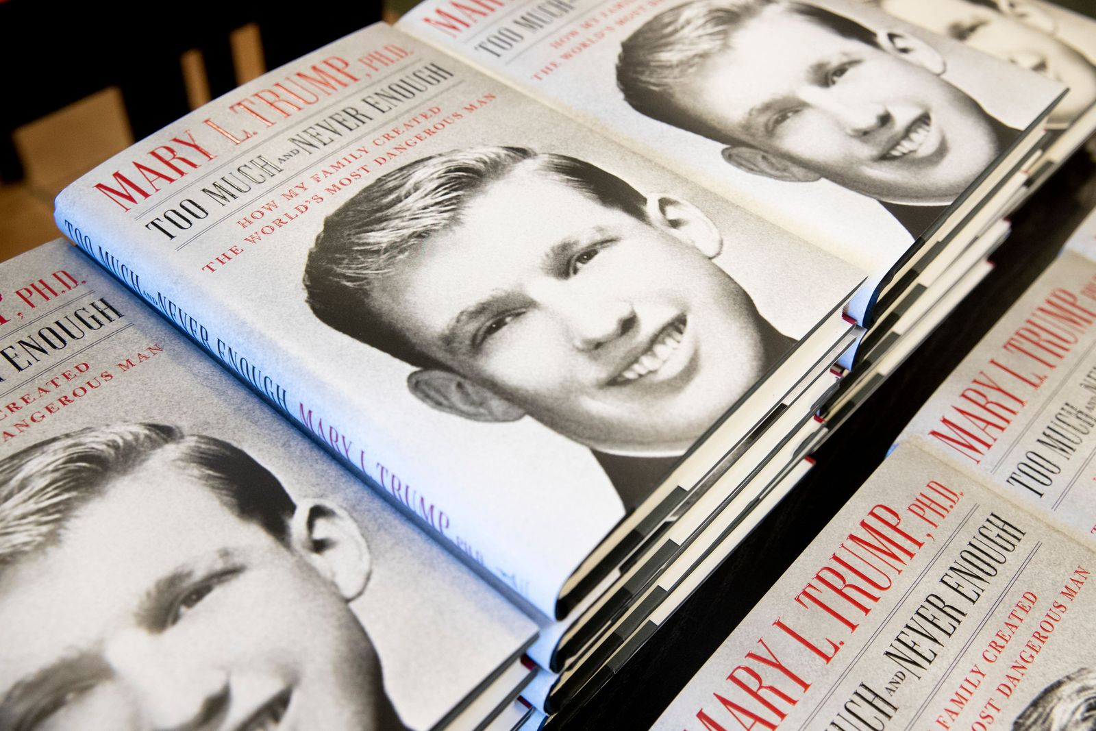 Too Much and Never Enough: How My Family Created the World's Most Dangerous Man' by Mary Trump, Alexanria, USA - 14 Jul 2020