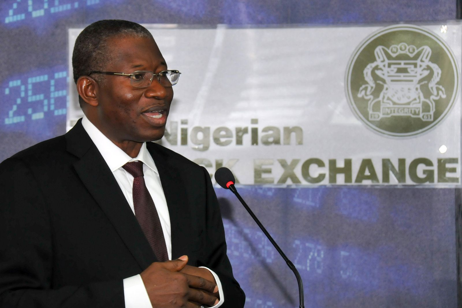 NIGERIA-STOCK-EXCHANGE-NSE-JONATHAN