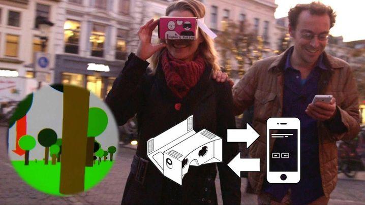 """Werbebild zu """"Cyborg Dating"""": In Berlin leider nur als Videoinstallation zu sehen"""