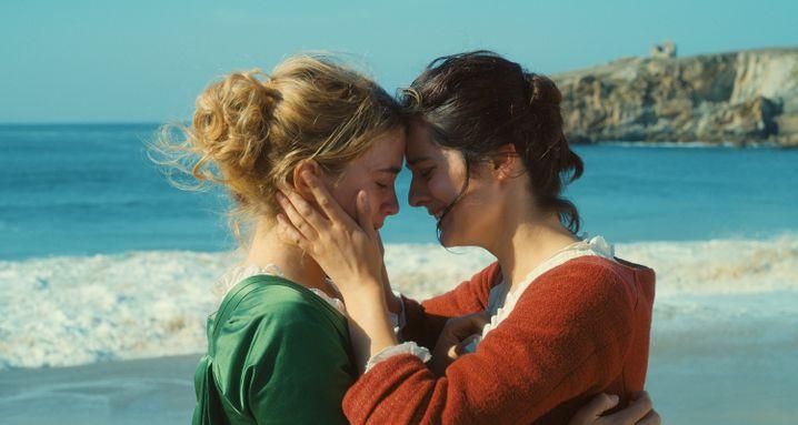 """Zu den Favoriten zählte auch der Film """"Porträt einer jungen Frau in Flammen"""", in dem Adèle Haenel eine Hauptrolle spielt. Er ging leer aus bei den Césars."""