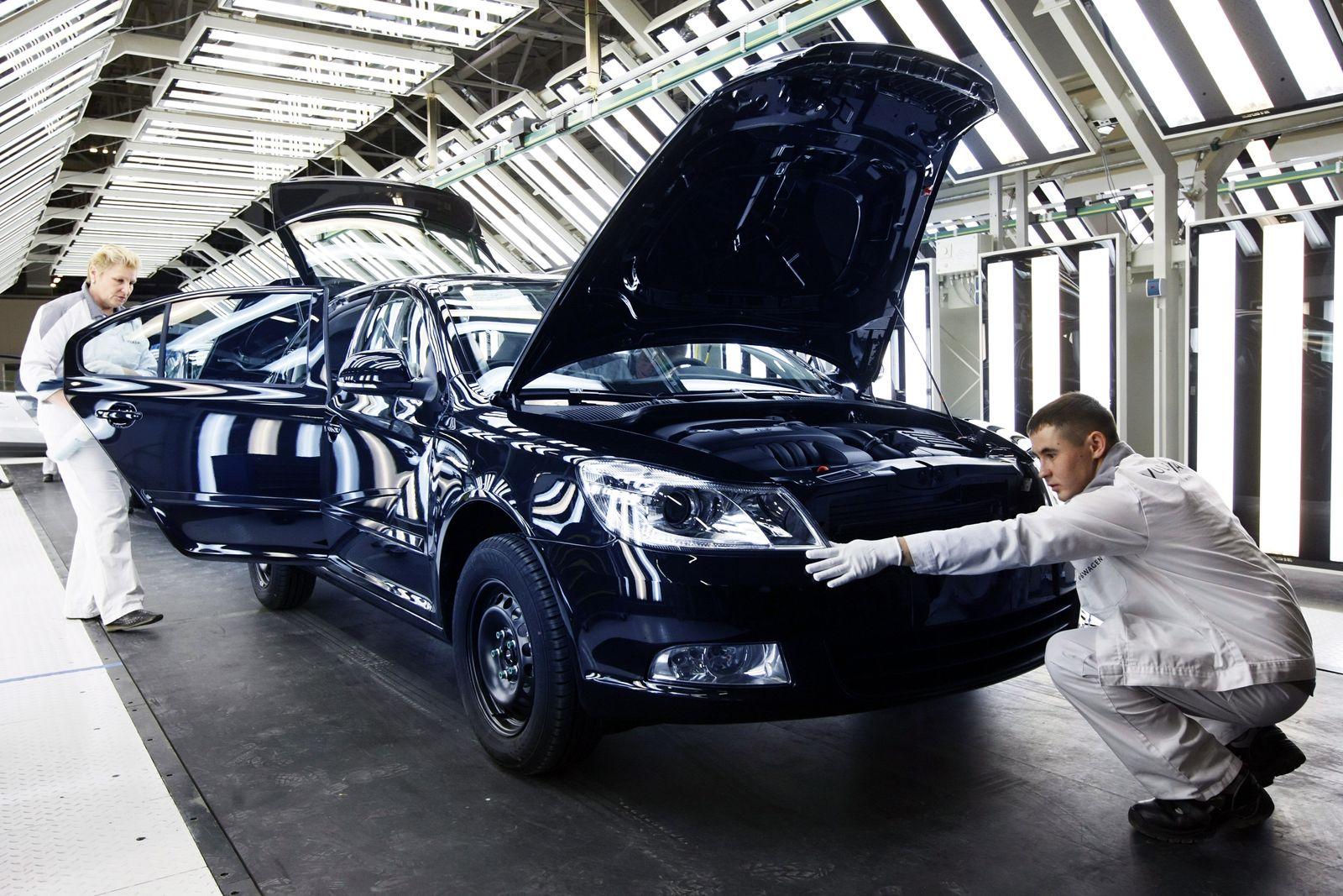 VW / Produktion / Russland