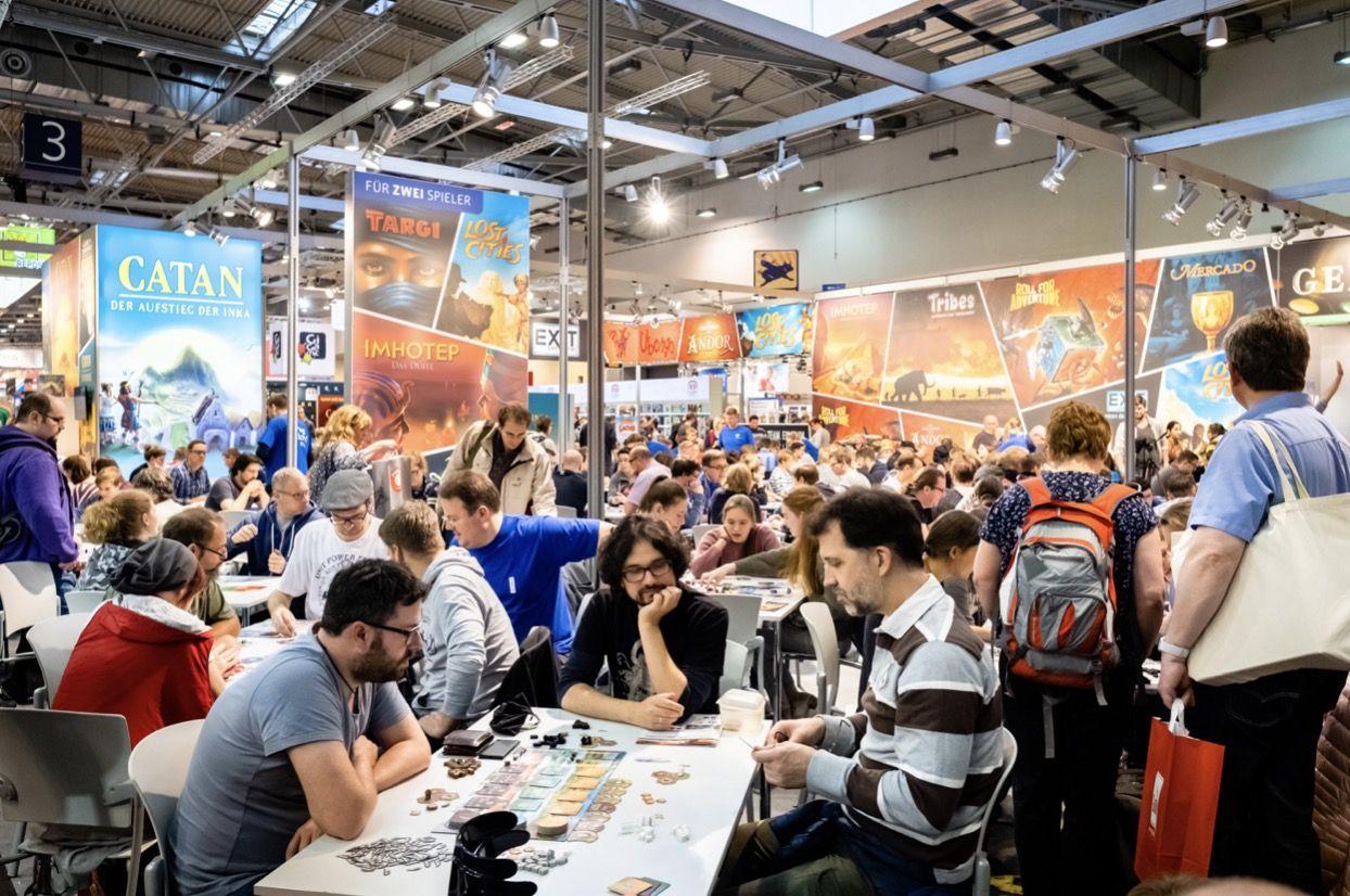 EINMALIGE VERWENDUNG Internationale Spieletage in Essen