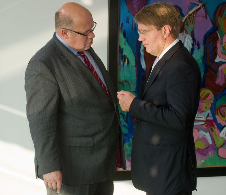 Peter Altmaier (links), Ronald Pofalla