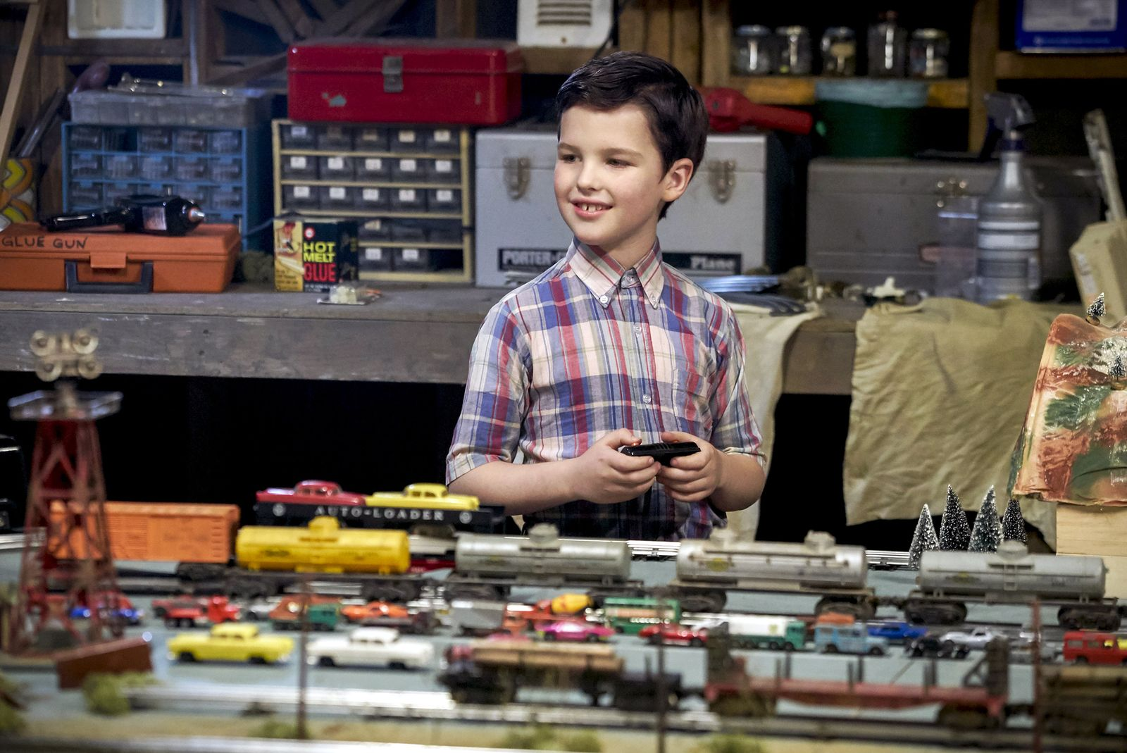 EINMALIGE VERWENDUNG TV/ Young Sheldon