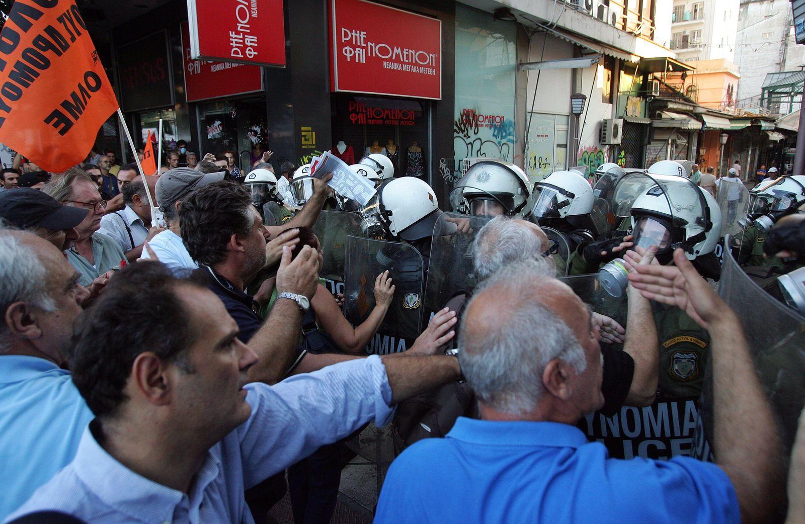 Griechenland/ Unruhen/ Thessaloniki