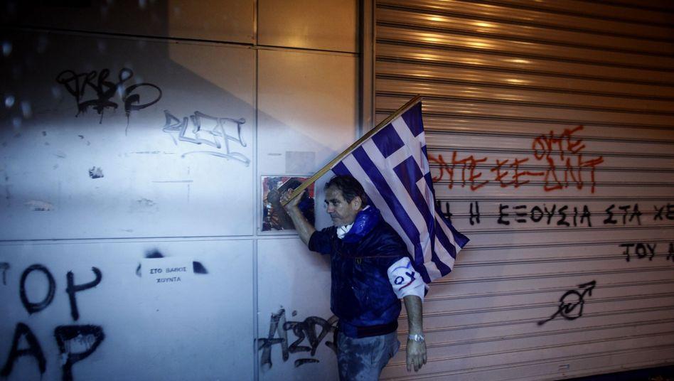 Schuldenkrise: Euro-Gruppe schnürt neues Rettungspaket für Griechenland