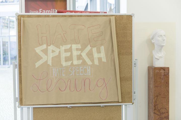 Hinweis auf Asta-Veranstaltung an der Hochschule in Berlin