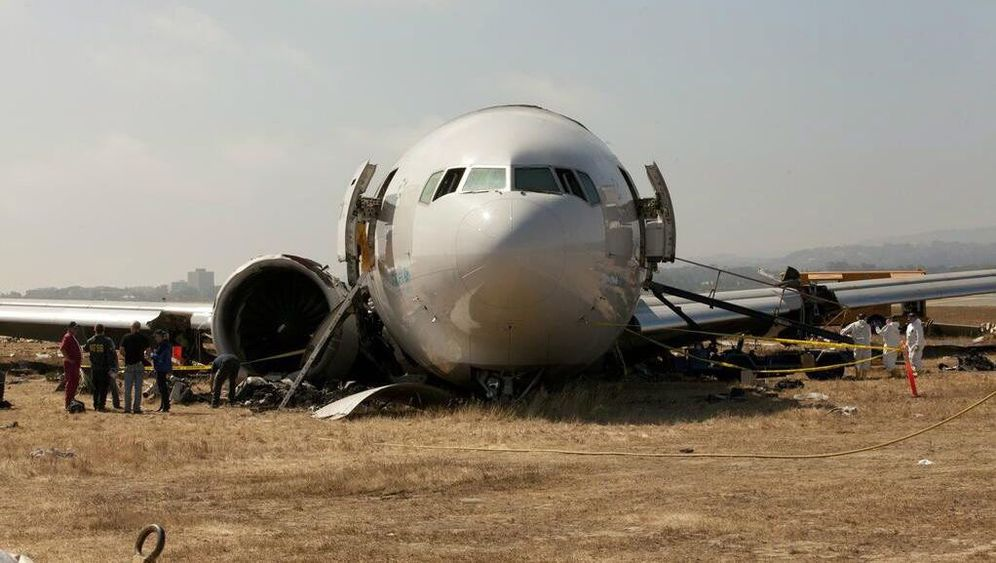 Asiana-Unglück: Hinweise auf Pilotenfehler