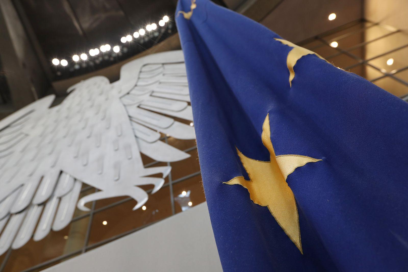EU-Flagge / Bundestag