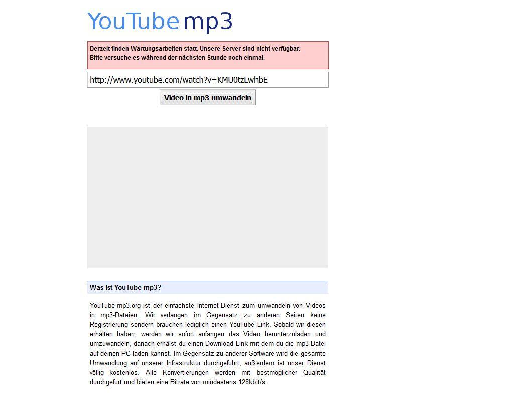 NUR ALS ZITAT Screenshot YouTube mp3