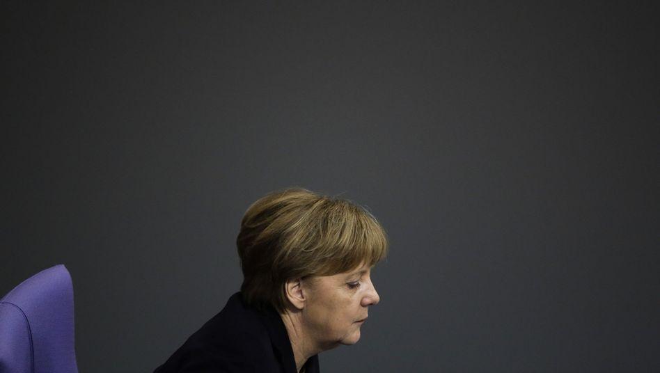 Angela Merkel: Nervöse Partei