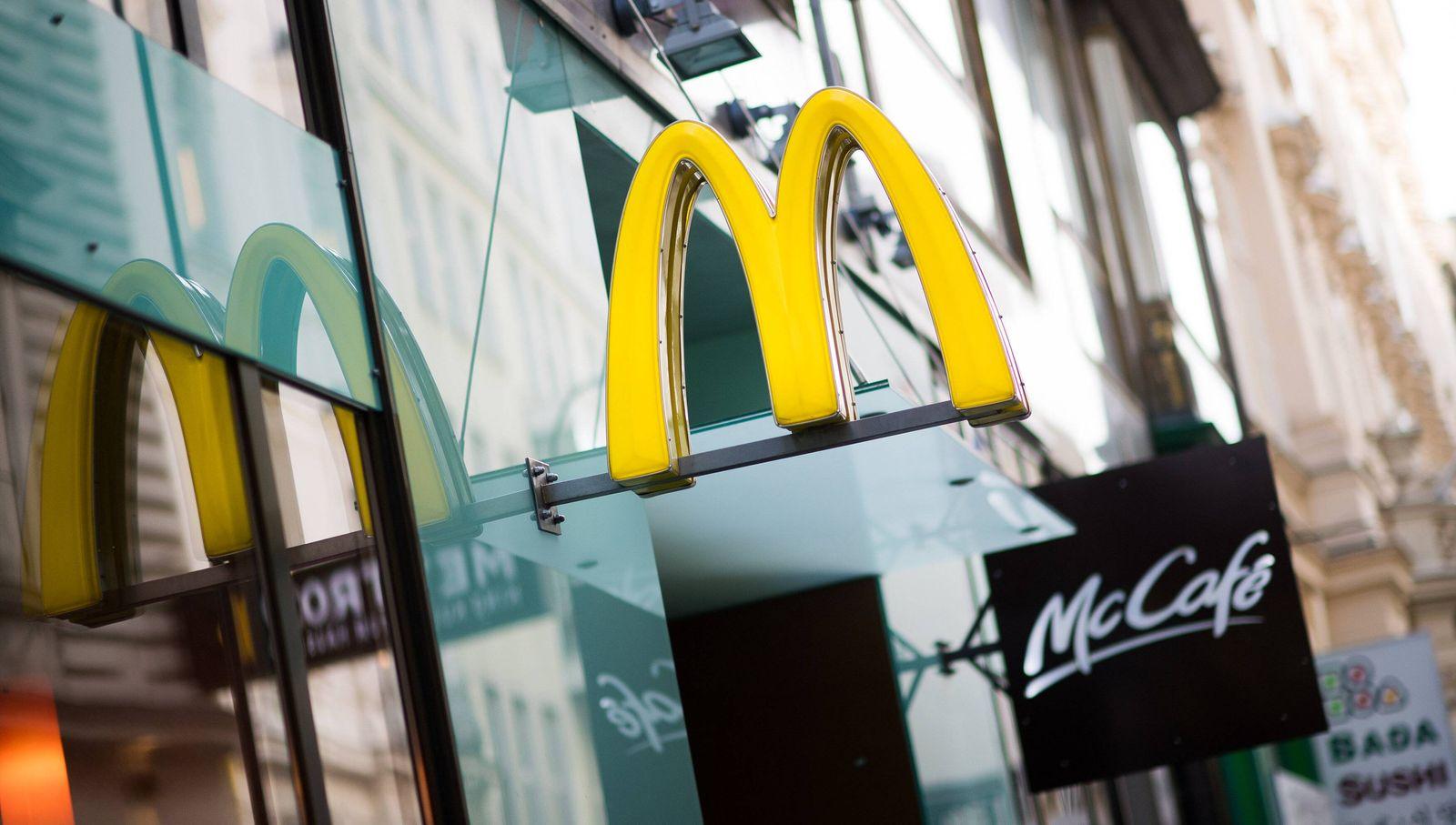 EINMALIGE VERWENDUNG McDonald's Wien / Österrreich / McDonalds
