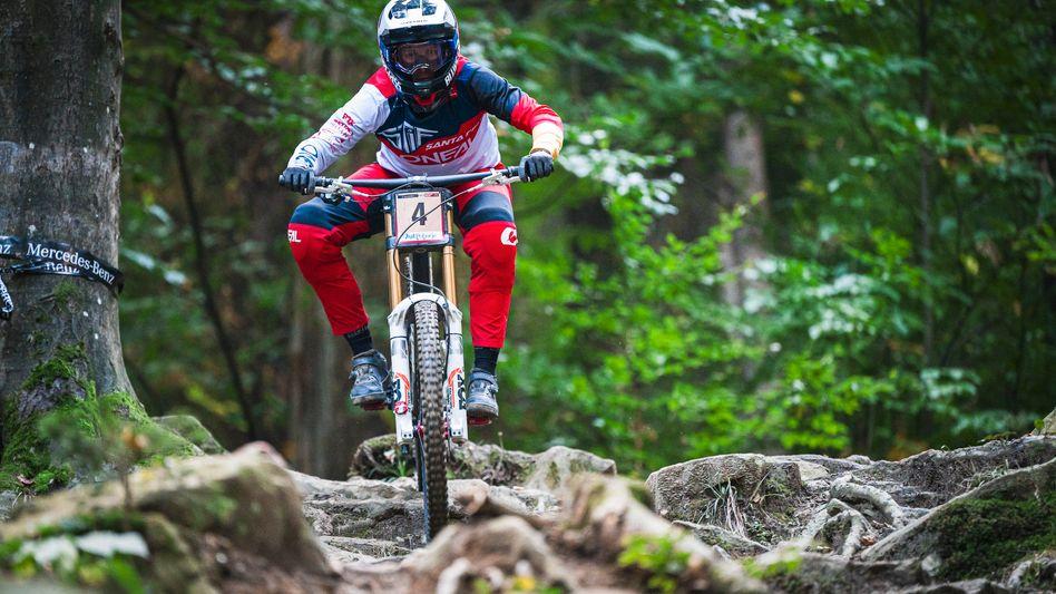 Im slowenischen Maribor gewann Nina Hoffmann ihr erstes Weltcuprennen