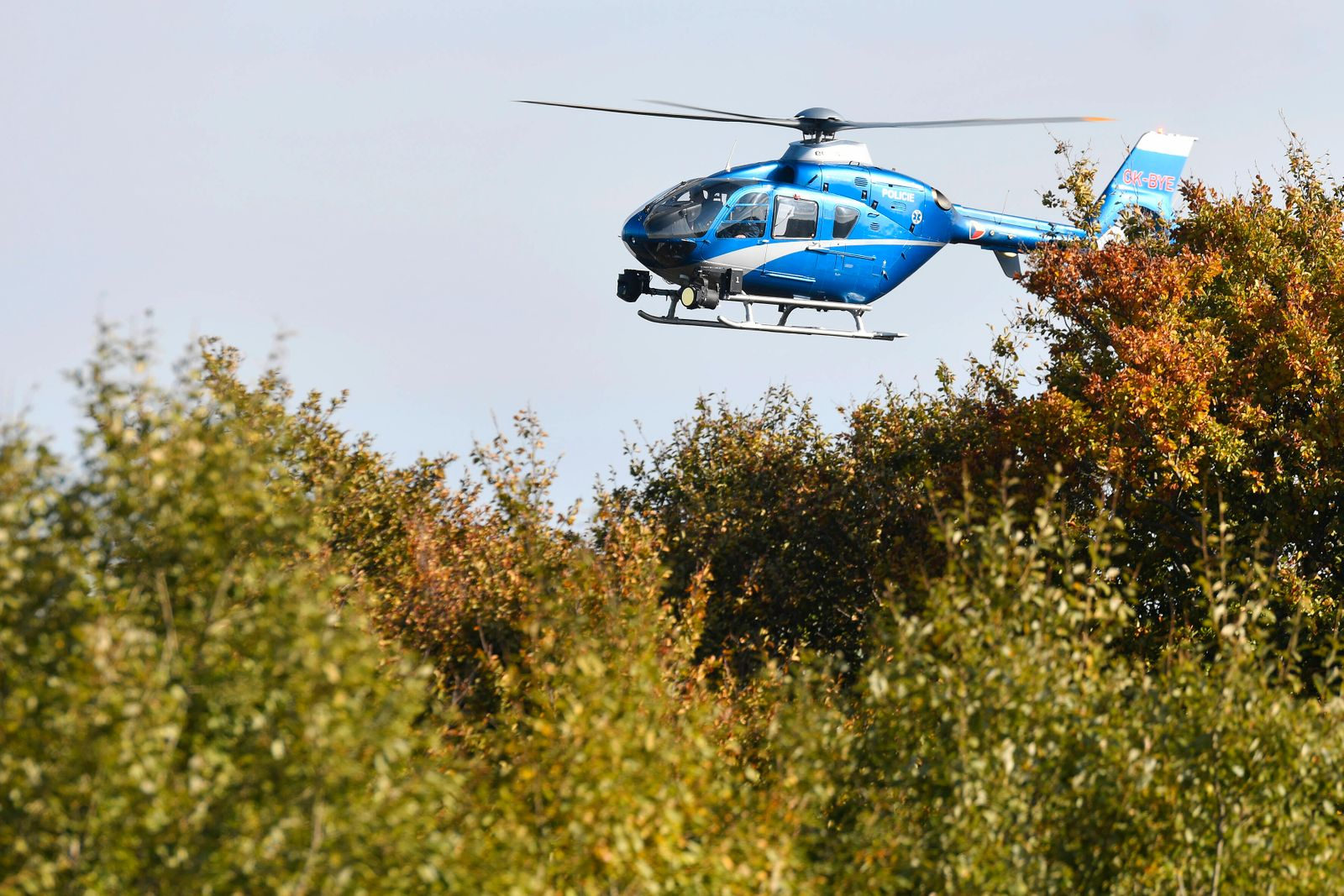Intensive search for the missing eight-year-old German girl continued in the vicinity of the Cerchov mountain (Schwarzk