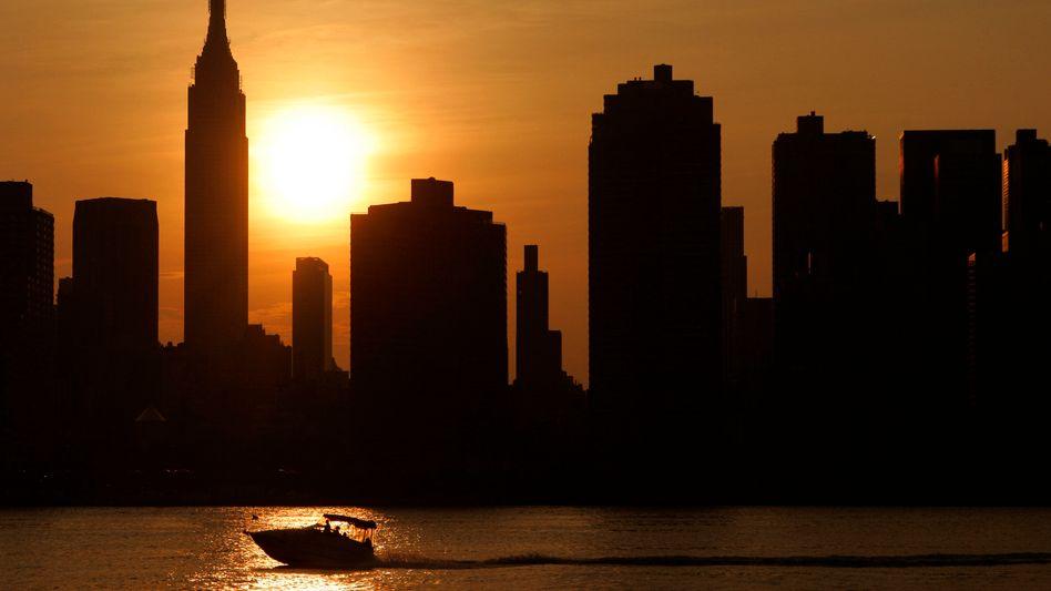 Finanzviertel in New York: US-Firma lockte mit hohen Renditen