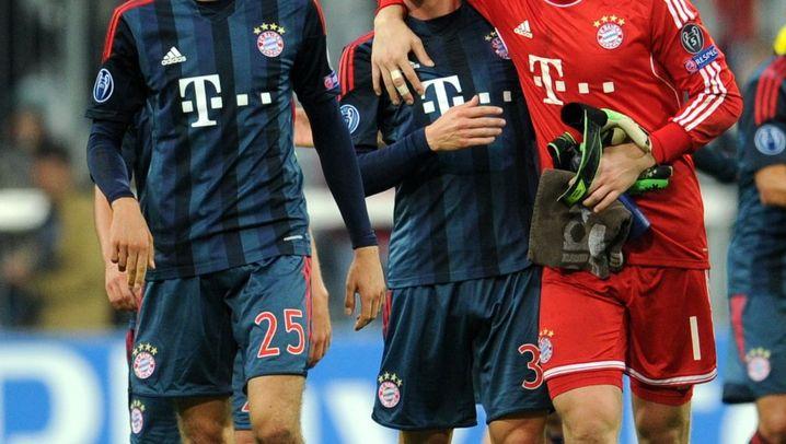 Champions League: Bayerns Power, Moskaus Schwäche