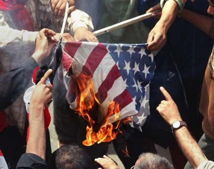 Violence in Iraq has been rising again -- and many are skeptical of the countries American occupiers.