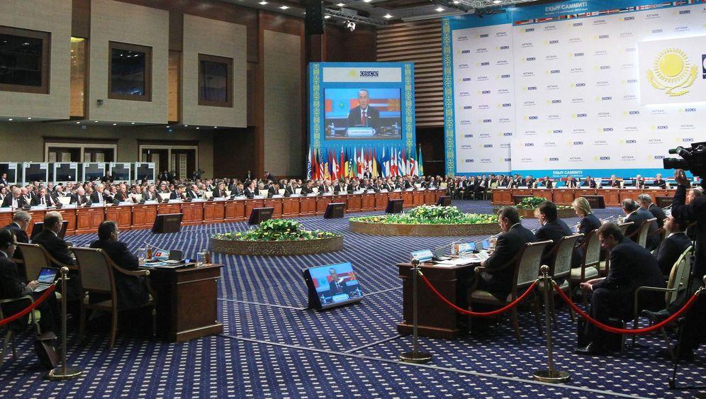 OSZE-Gipfel in Kasachstan: Diplomatisches Scheitern in der Retortenstadt