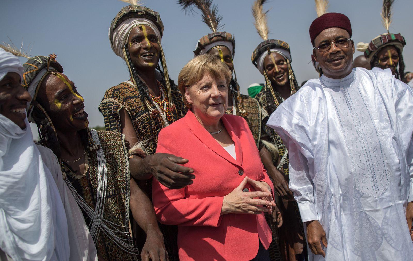 Merkel / Afrika / Mahamadou Issoufou / Niger