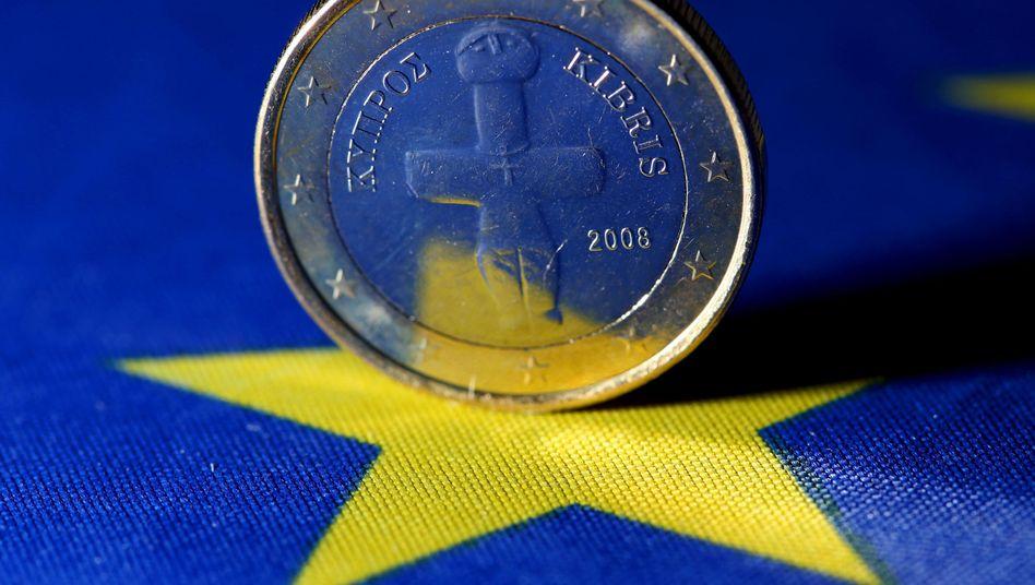 Zypriotische Euro-Münze: Angst vor Ansteckungsgefahr durch Grexit