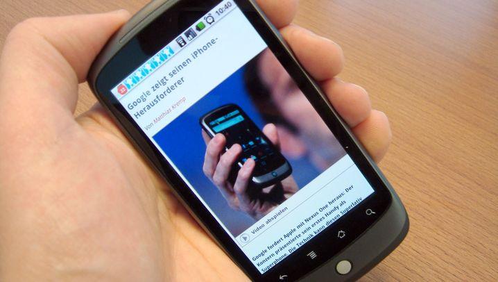 Nexus One: Googles Handy im Kurztest