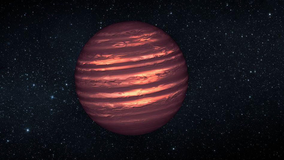 Brauner Zwerg 2MASSJ22282889-431026 (grafische Darstellung)