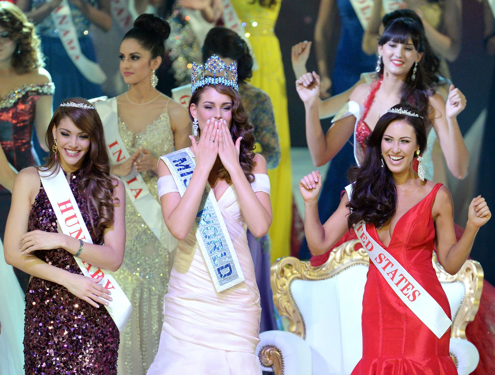 Miss World Finale 2014 in London